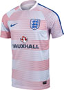 Nike England Flash Pre Match Top II - White & Sport Royal