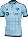 adidas Sporting KC Authentic Home Jersey 2016
