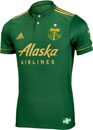 adidas Portland Timbers Authentic Home Jersey 2017-18
