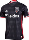adidas DC United Authentic Away Jersey 2016