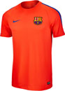 Nike Kids Barcelona Training Top - Bright Crimson & Game Royal