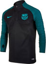 Nike Barcelona Strike Drill Top - Black & Energy