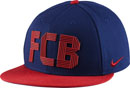 Nike Barcelona True Adjustable Hat - Loyal Blue & Sorm Red