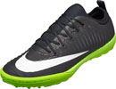 Nike MercurialX Finale TF Soccer Shoes - Black & Electric Green