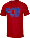 Nike Barcelona Squad Tee - Gym Red