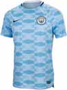 Nike Manchester City Pre-Match Top - Field Blue & Midnight Navy