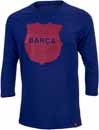 Nike Barcelona Raglan 3/4 Sleeve Tee - Deep Royal Blue