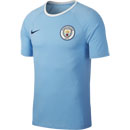 Nike Manchester City Match Tee - Field Blue & White