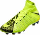 Nike Hypervenom Phantom III DF FG - EA Sports - Volt & Black
