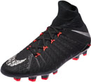 Nike Kids Hypervenom Phantom DF III FG - Black & Anthracite