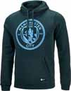 Nike Manchester City Crest Hoodie - Outdoor Green & Field Blue