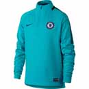 Nike Kids Chelsea Drill Top - Omega Blue & Anthracite