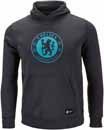 Nike Youth Chelsea Crest Hoodie - Anthracite & Omega Blue