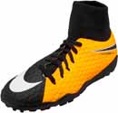 Nike Kids Hypervenom Phelon III DF TF - Laser Orange & Black