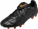 The Nike Premier II FG - Black & Total Orange