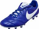 The Nike Premier II FG - Race Blue & White