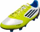 adidas Youth F30 TRX FG Soccer Cleats  White with Black and Lab Lime