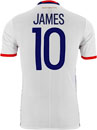 adidas James Rodriguez Colombia Authentic Home Jersey 2016-17