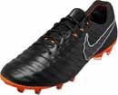 Nike Tiempo Legend 7 Elite FG - Black & Total Orange