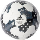 adidas 17 NFHS MLS Top Trainer Soccer Ball - White & Silver Metallic