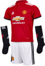 adidas Kids Manchester United Home Mini Kit 2017-18