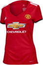 adidas Womens Manchester United Home Jersey 2017-18