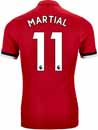 adidas Anthony Martial Manchester United Authentic Home Jersey 2017-18