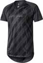 adidas Real Madrid SSP Tee - Winter Pack - Solid Grey & Black