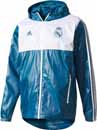 adidas Real Madrid Windbreaker - Petrol Night & White