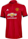 adidas Manchester United Home Jersey 2017-18