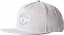 adidas Manchester United Flat Cap - LGH Solid Grey & White