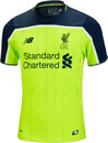 New Balance Liverpool Authentic 3rd Jersey 2016-17