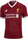 New Balance Liverpool Authentic Home Jersey 2017-18