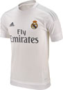 adidas Kids Real Madrid Home Jersey 2015-16