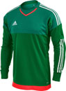 adidas Top Goalkeeper Jersey - Green and White