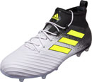 adidas ACE 17.2 FG Soccer Cleats - White & Solar Yellow