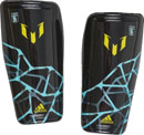 adidas Messi 10 Shinguard - Night Grey & Frozen Blue