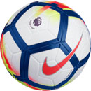Nike Ordem V Match Soccer Ball - Premier League - White & Crimson