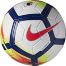Nike Magia Match Soccer Ball - Premier League - White & Crimson