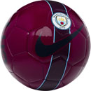 Nike Manchester City Supporters Soccer Ball - True Berry & Midnight Navy