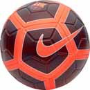 Nike Barcelona Strike Soccer Ball - Night Maroon & Hyper Crimson