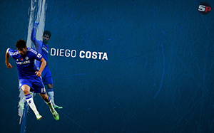 Diego Costa Soccer Desktop Wallpaper