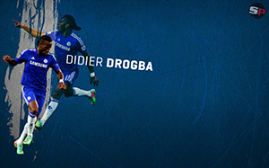 Didier Drogba Soccer Desktop Wallpaper