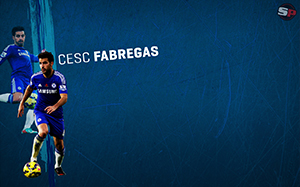 Cesc Fabregas Soccer Desktop Wallpaper