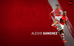 Alexis Sanchez Soccer Desktop Wallpaper