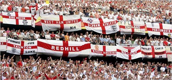 England Fan Tiffos