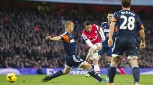 Arsenal beasts Fulham