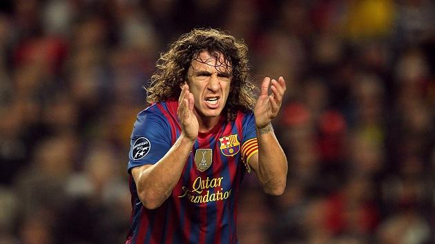 Barcelona's Carlos Puyol