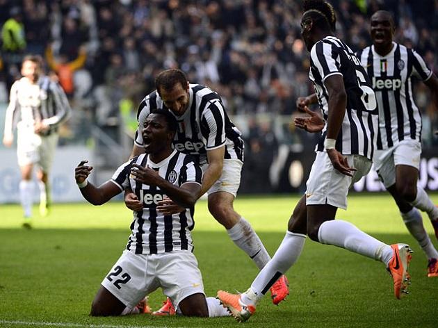 Asamoah scores for Juventus
