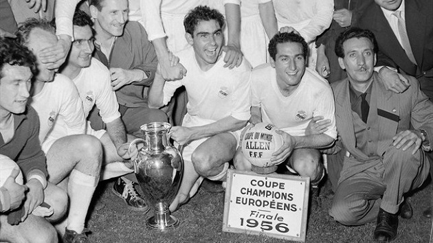 1956 Euro Cup champs Real
